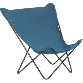 Lafuma Mobilier Pop Up XL Campingstol Airlon + Uni, blå/grå